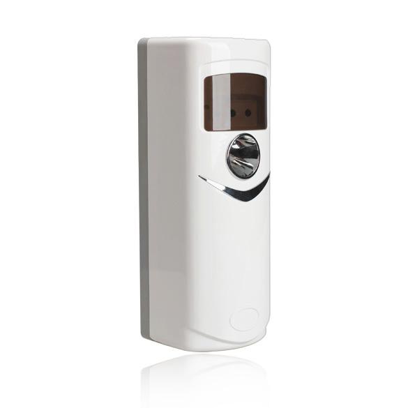 Automatic-Light-Sensor-Aerosol-Air-Freshener-Dispenser-White-OK-002-Perfume-Air-Freshener-238mm-x