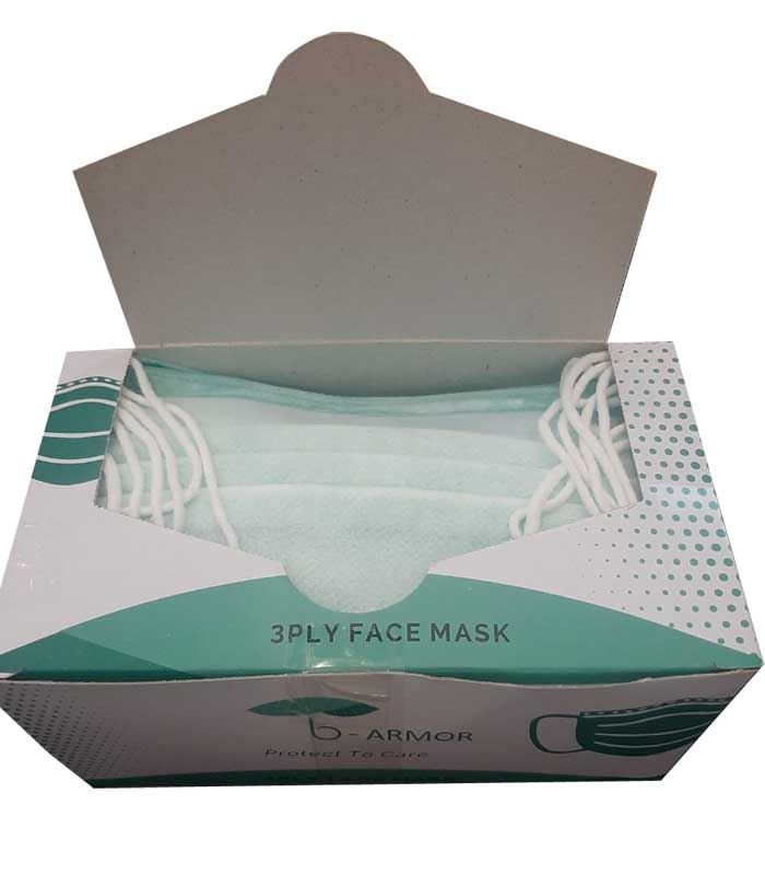 Surgical-mask-with-nose-strip-box