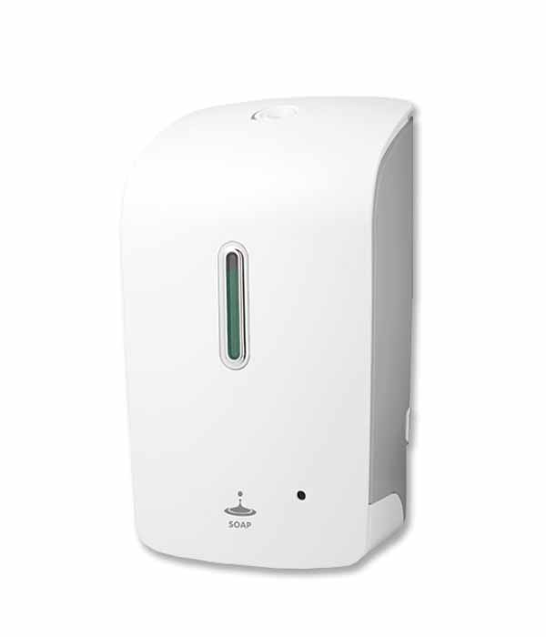 automatic-sanitizer-soap-dispenser-white