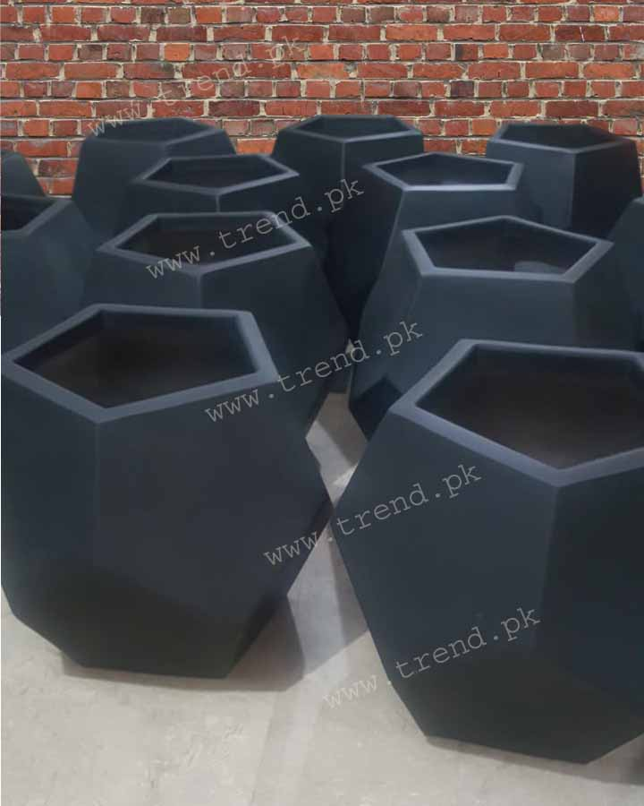 plant-pot-planter-fiberglass-diamond-shape-whole-sale